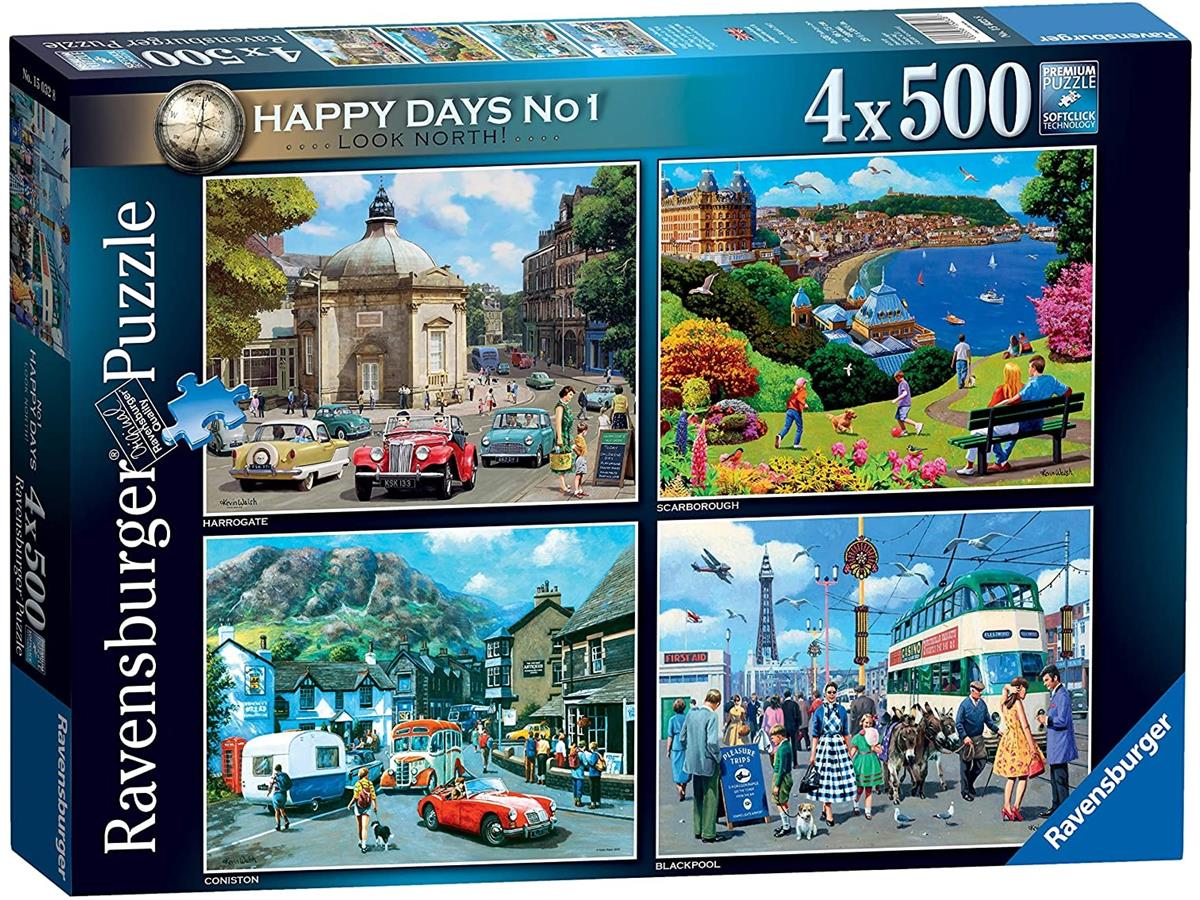 Look North Jigsaw Puzzle ( 4 x 500 Pieces )