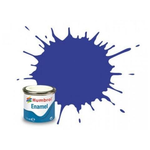 222 Metallic Moonlight Blue 14ml Enamel Paint