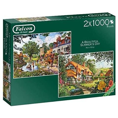 A Beautiful Summers Day Jigsaw Puzzle ( 2 X 1000 Pieces )