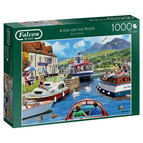 A Day on the River Jigsaw Puzzle ( 1000 Pieces )