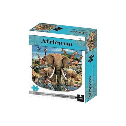Africana Jigsaw Puzzle ( 1000 Pieces )