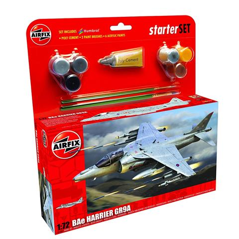 BAe Harrier GR9A Starter Set Model Kit
