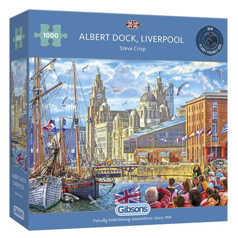 Albert Dock Liverpool Jigsaw Puzzle ( 1000 Pieces )