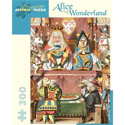 Alice in Wonderland Jigsaw Puzzle ( 300 Large Piece