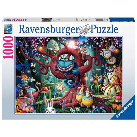 Almost Everyone is Mad ( Alice in Wonderland ) Jigsaw Puzzle ( 1000 Pieces )