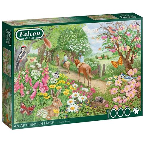 An Afternoon Hack Jigsaw Puzzle ( 1000 Pieces )