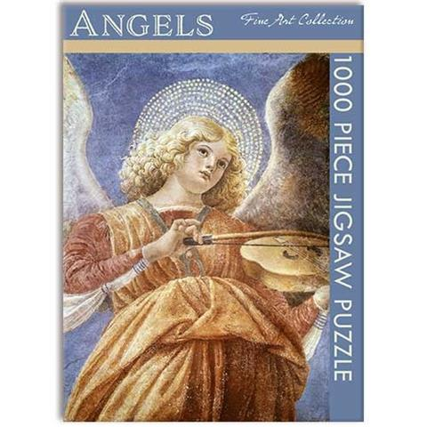 Angels by Melozzo da Forli Jigsaw Puzzle ( 1000 Pieces )