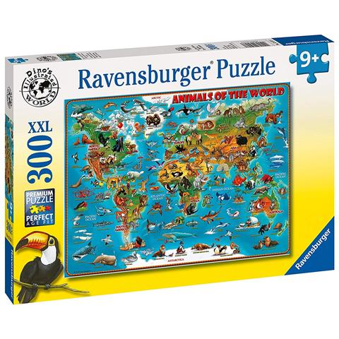 Animals of the World Jigsaw Puzzle ( 300 XXL Pieces )