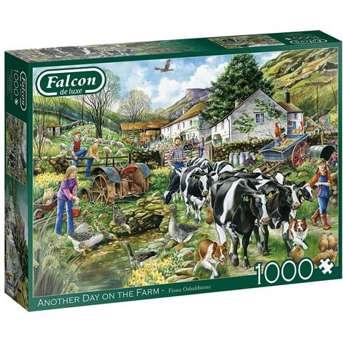 Another Day on the Farm Jigsaw Puzzle ( 1000 Pieces )