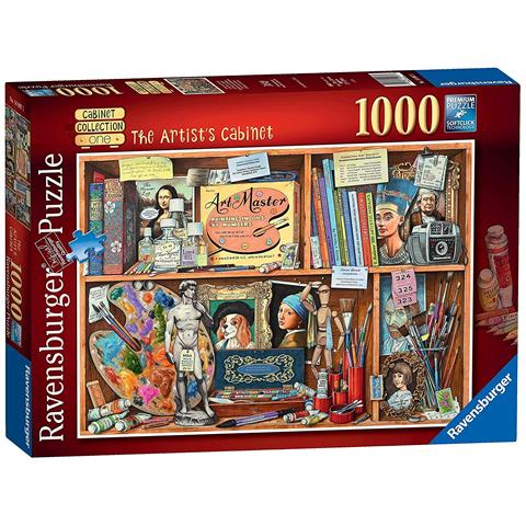 Artists Cabinet Jigsaw Puzzle ( 1000 Pieces )