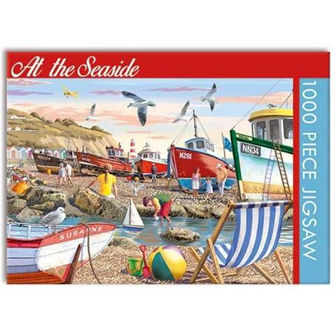 At the Seaside Jigsaw Puzzle ( 1000 Pieces )