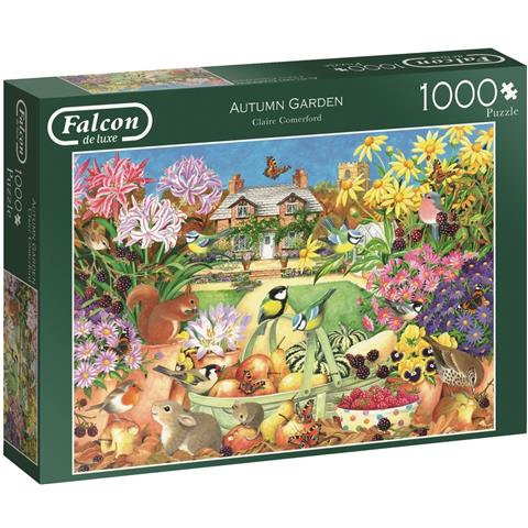 Autumn Garden Jigsaw Puzzle ( 1000 Pieces )
