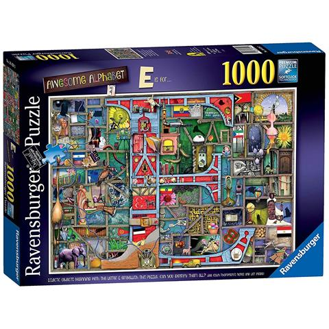 Awesome Alphabet The Letter E Jigsaw Puzzle ( 1000 Pieces )