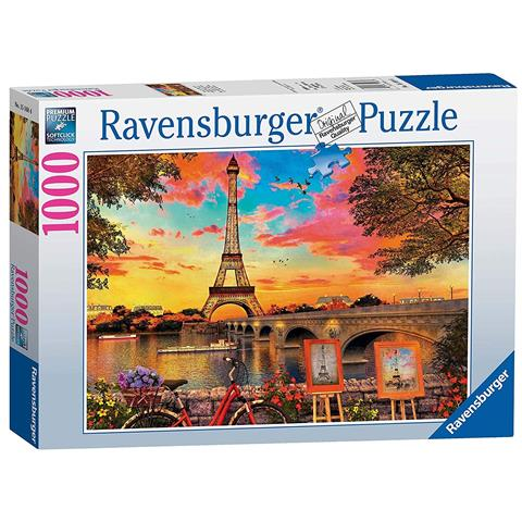 Banks of the Seine Jigsaw Puzzle ( 1000 Pieces )