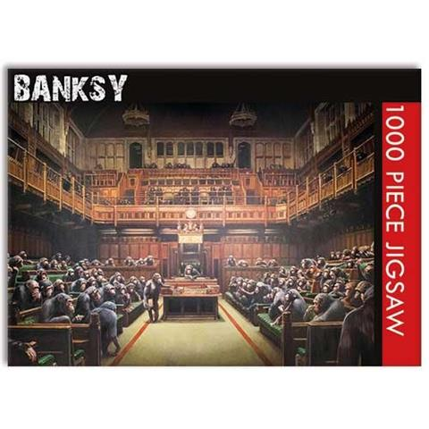 Banksy Devolved Parliament Jigsaw Puzzle ( 1000 Pieces )