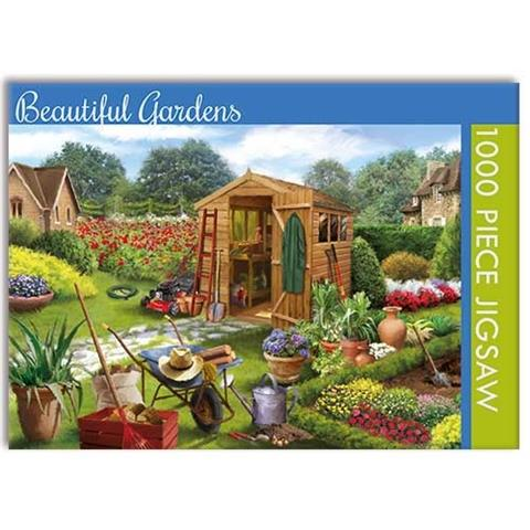 Beautiful Gardens Jigsaw Puzzle ( 1000 Pieces )