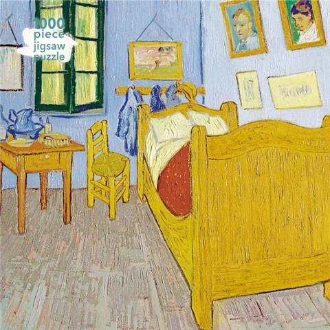 Bedroom at Arles By Van Goth Jigsaw Puzzle ( 1000 Pieces )