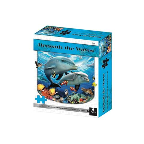Beneath the Waves Jigsaw Puzzle ( 500 Pieces )