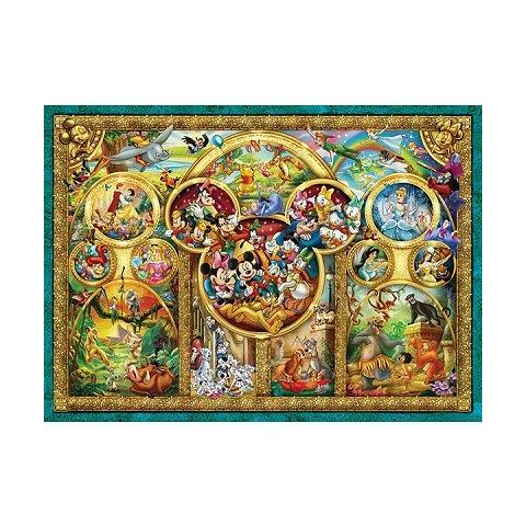 The Best Disney Themes Jigsaw Puzzle ( 1000 Pieces )