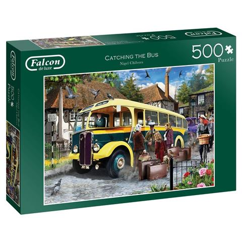 Catching the Bus Jigsaw Puzzle ( 500 Pieces )