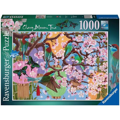 Cherry Blossom Time Jigsaw Puzzle ( 1000 Pieces )