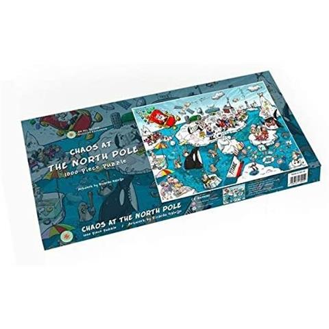 Chaos at the North Pole Jigsaw Puzzle ( 500 Piece )