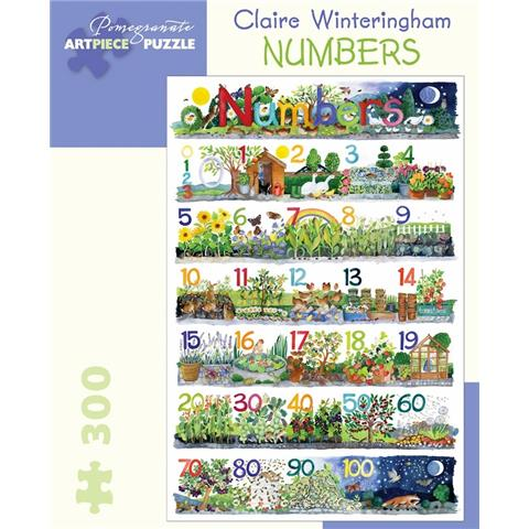 Numbers by Claire Wintering Jigsaw Puzzle ( 300 Pieces )