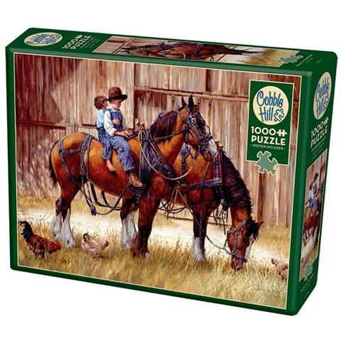 Back to the Barn Jigsaw Puzzle ( 1000 Pieces )