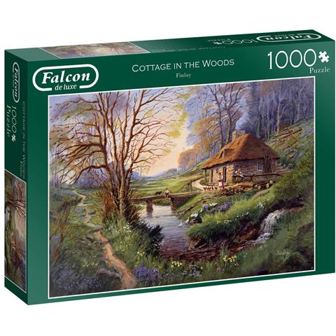 Cottage in the Woods Jigsaw Puzzle ( 1000 Pieces )
