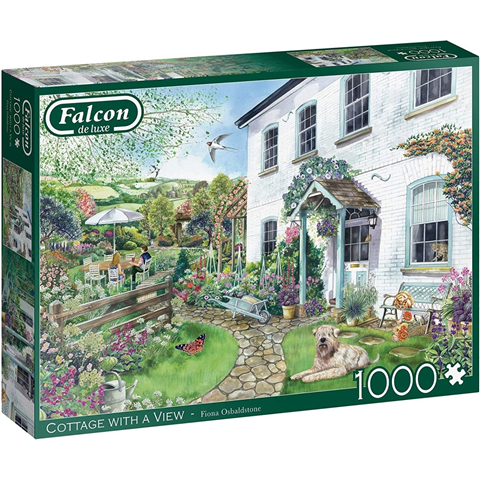 Cottage with a View Jigsaw Puzzle ( 1000 Pieces )