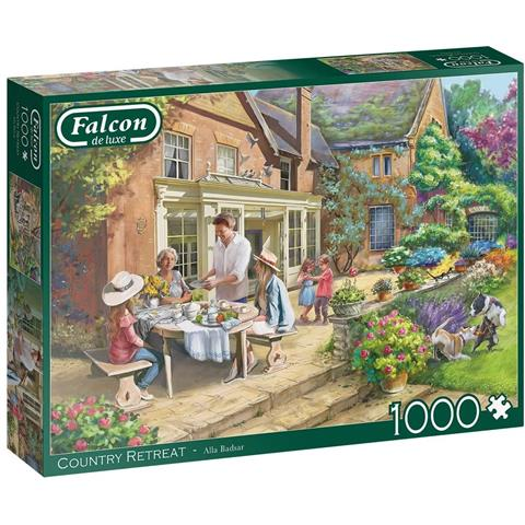 Country Retreat Jigsaw Puzzle ( 1000 Pieces )