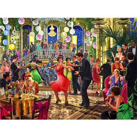 Dancing the Night Away Jigsaw Puzzle ( 500 Pieces )