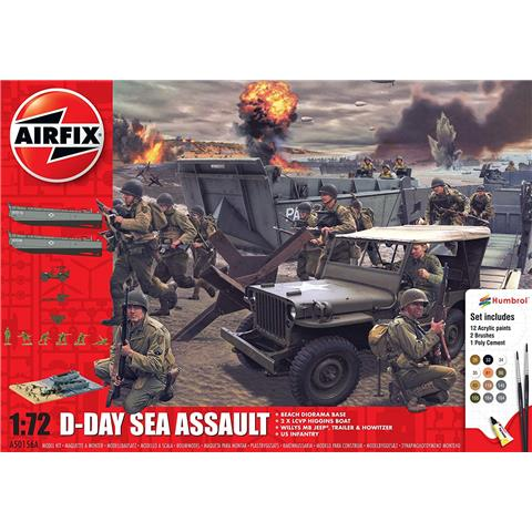 D-Day 75th Anniversary Sea Assault Model Kit