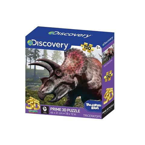 Triceratops Prime 3D Jigsaw Puzzle ( 150 Pieces )