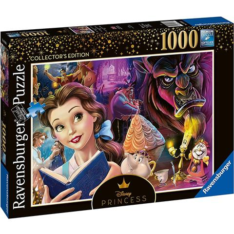 Disney Princess Heroines No 2 - Beauty and the Beast Jigsaw Puzzle ( 1000 Pieces )