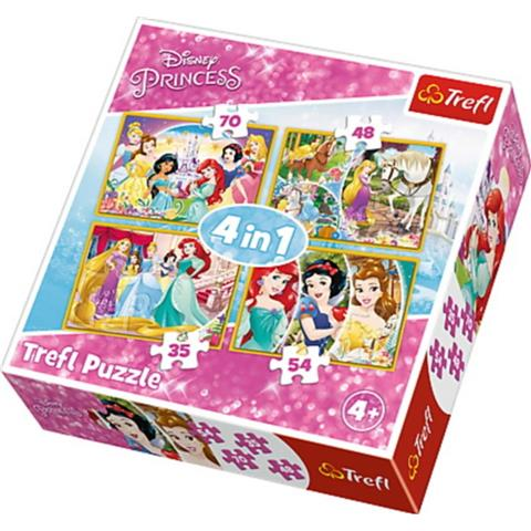 Disney Princess Jigsaw Puzzle ( 70 / 54 / 48 & 35 Pieces )