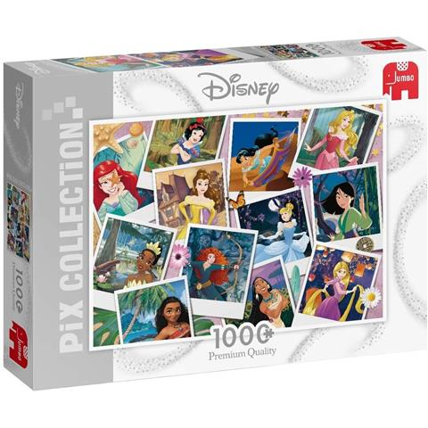 Disney Princess Selfies Jigsaw Puzzle ( 1000 Pieces )