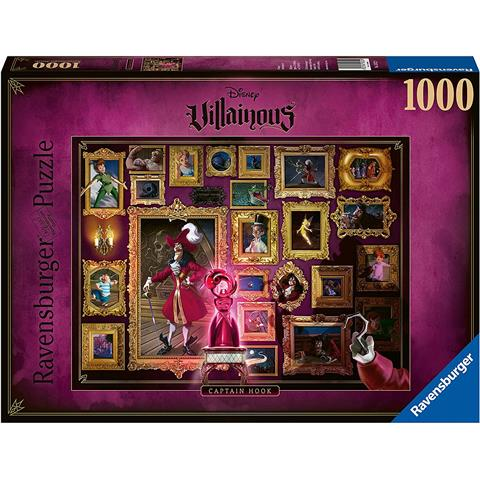 Disney Villainous Captain Hook Jigsaw Puzzle ( 1000 Pieces )