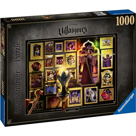 Disney Villainous Jafar Jigsaw Puzzle ( 1000 Pieces )