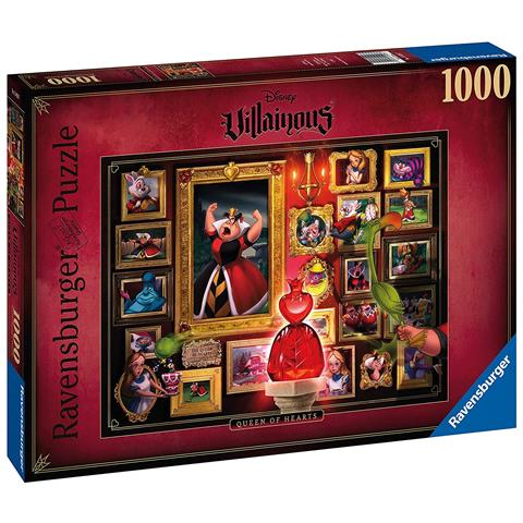 Disney Villainous Queen of Hearts Jigsaw Puzzle ( 1000 Pieces )