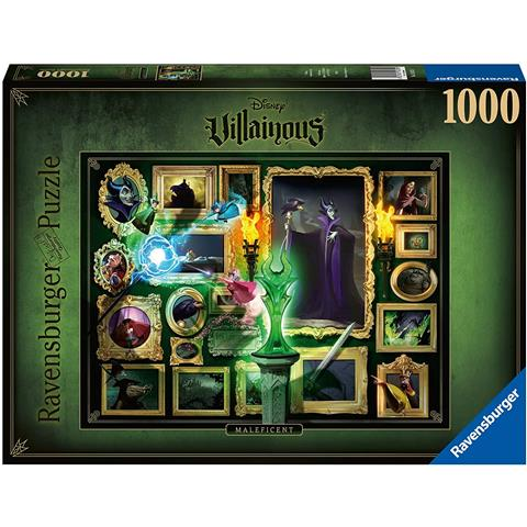 Disney Villainous Malificent Jigsaw Puzzle ( 1000 Pieces )