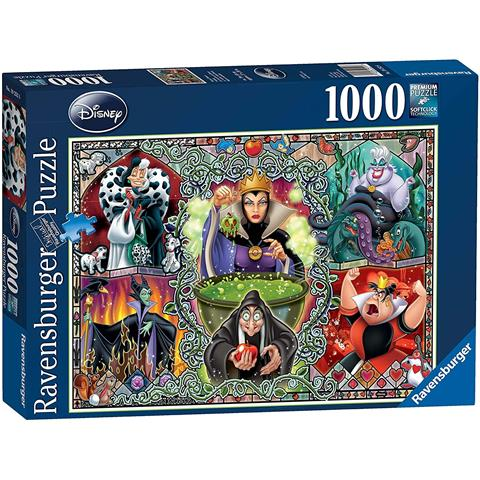 Disney Wicked Women Jigsaw Puzzle ( 1000 Pieces )