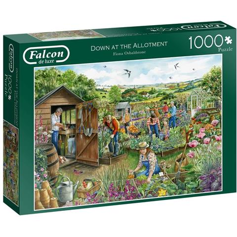 Down at the Allotment Jigsaw Puzzle ( 1000 Pieces )
