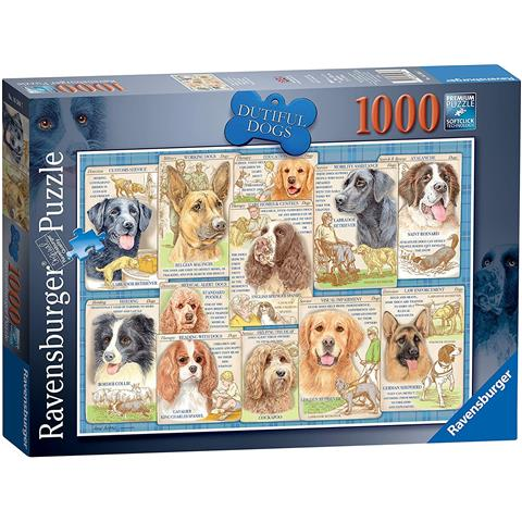 Dutiful Dogs Jigsaw Puzzle ( 1000 Pieces )