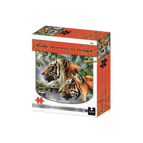 Early Morning in Bengal Jigsaw Puzzle ( 1000 Pieces )
