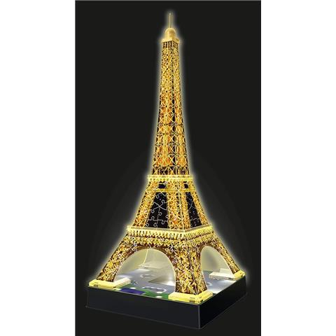 Eiffel Tower Night Edition 3d Puzzle 216 Pieces
