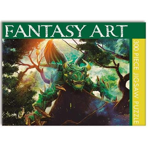 Fantasy Art Jigsaw Puzzle ( 300 Pieces )