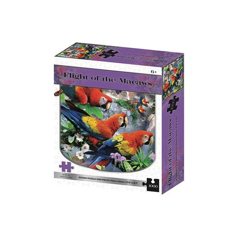 Flight of the Macaws Jigsaw Puzzle ( 1000 Pieces )