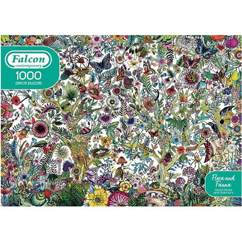 Flora and Fauna Jigsaw Puzzle ( 1000 Pieces )