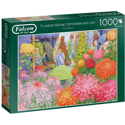 Flower Show Optimism and Joy Jigsaw Puzzle ( 1000 Pieces )